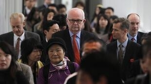 Stephen Bosworth, US special envoy to North Korea, arrives in Tokyo