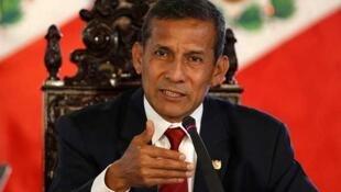 Imagen de archivo del presidente peruano Ollanta Humala. El 2 de marzo de 2015.