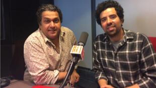 Nordine Labiadh et Abdel Alaoui.