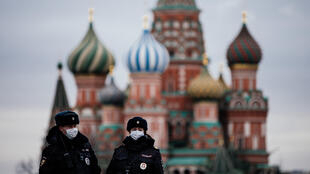 Russian capital Moscow has been on lockdown since Monday