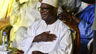 Le président malien Ibrahim Boubacar Keïta (IBK) a annoncé, lors d'un entretien avec RFI et France 24 le 10 février, un dialogue avec des chefs jihadistes (image d'illustration)
