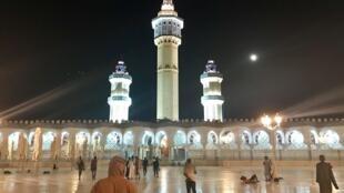 La grande mosquée de la Ville sainte des Mourides, Touba, prête pour le Grand Magal qui se tient le jeudi 17 octobre 2019.