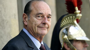 Jacques Chirac, khi còn là tổng thống, tại điện Elysée, Paris, ngày 04/10/2004.