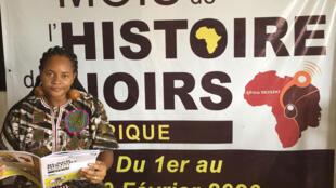 Melina Seymour est l'initiatrice du Mois de l'Histoire des Noirs en Afrique.