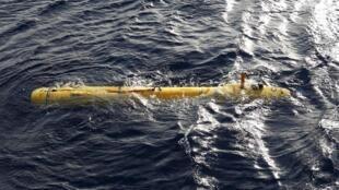 O mini-submarino Bluefin-21, da Marinha americana