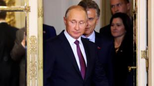 Президент России Владимир Путин на саммите G20