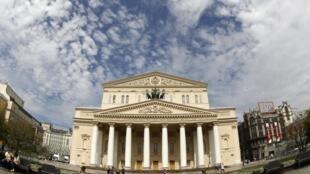Le théâtre Bolchoï à Moscou.
