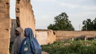 Wasu daga cikin yankunan dake karkashin kungiyar Boko Haram a jihar Borno