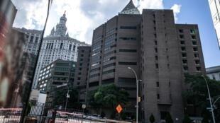 A prisão em Manhattan, onde Jeffrey Epstein foi encontrado morto, em 10 de agosto