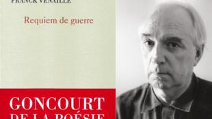 Portrait du poète Franck Venaille.
