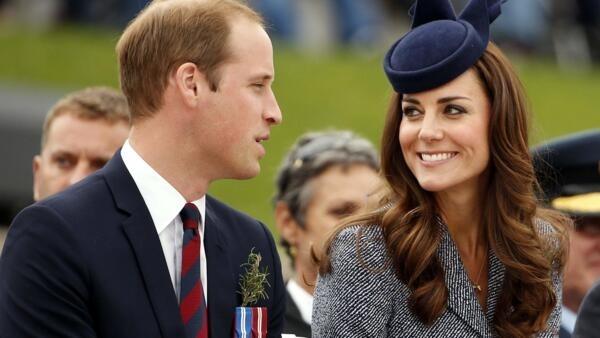 Príncipe William e Kate Middleton esperam o segundo filho.