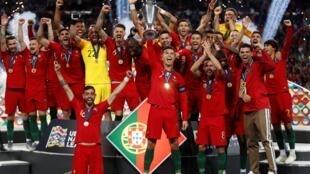 Portugal venceu a Liga das Nações de futebol.