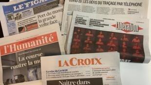 França quer população com máscaras contra propagação do coronavírus