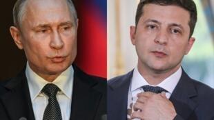 Обмен заключенными обсуждался во время телефонных переговоров Владимира Путина и Владимира Зеленского 11 июля