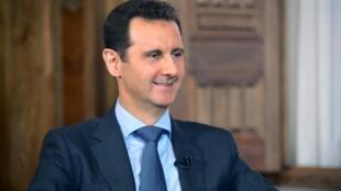 O presidente sírio, Bashar Al-Assad.