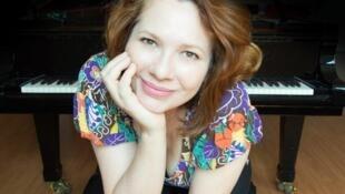 A pianista Karin Fernandes