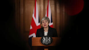 Primeira-ministra Theresa May, 20 de Março 2019.