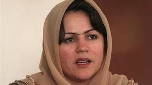 Fawzia Koofin, vice president of the Afghanistan parliament