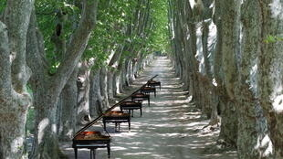 Les pianos sont à l'honneur au Festival international de piano de la Roque d'Anthéron.
