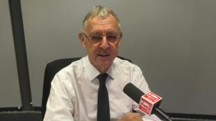 Jean-Christophe Deberre, invité d'Orient hebdo.