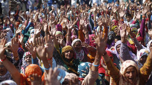 The Jat community have been demanding to be included in government quotas aimed at providing opportunities to lower castes