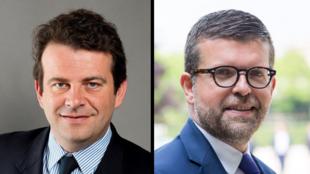 Thierry Solère (à gauche) et Luc Carvounas (à droite) sont les invités de Mardi Politique.