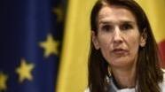 Kaimu waziri mkuu wa Ubelgiji Sophie Wilmès,  mwenye umri wa miaka 44 mjini Brussels, february 2019.