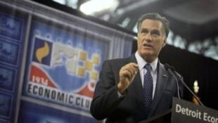 O pré-candidato republicano Mitt Romney.