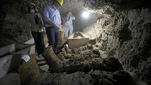 La fouille d'un conteneur à Salerne à mis au jour quelque 200 pièces antiques ainsi qu'une vingtaine de milliers de pièce de monnaie de différentes époques de l'histoire égyptienne. (image d'illustration)
