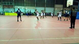 Oilers ilipopambana na timu kutoka Rwanda katika Uwanja wa ndani wa Taifa Jijini Dar es Salaam Oktoba 5, 2018