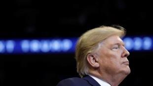 Tổng thống Mỹ Donald Trump trong chiến dịch vận động tại Sunrise, Florida, ngày 26/11/2019.