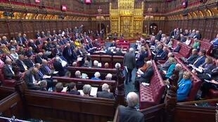The House of Lords passes the European Union Withdrawal (No. 6) bill, London, 6 September 2019.