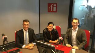 Sébastien Heon, Gisèle Zelou et Danilo D'Elia