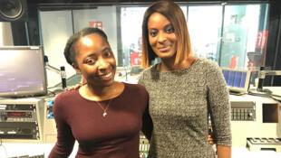 Sandy du blog Abenafrica et Diara Ndiaye.