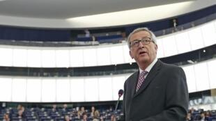 Jean-Claude Juncker,o presidente da Comissão Europeia