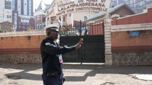 La Haute Cour constitutionnelle à Antananarivo, en 2015.