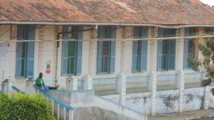 Hospital Ayres de Menezes, em São Tomé