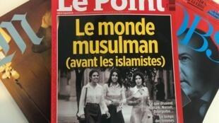 Fotos de reportagem da revista Le Point mostram, em imagens, aumento da influência da religião nos países árabes.