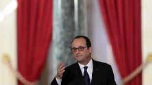 Lors de sa conférence de presse, le 5 février 2015, François Hollande a insisté sur les valeurs de la République.