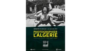 Affiche de l'exposition «Photographier l'Algérie».