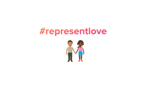 """Série de emojis com casais """"mistos"""" fazem parte de campanha mundial do Tinder, lançada em 27 de fevereiro de 2018."""