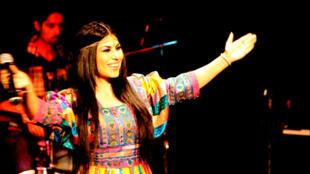 Aryana Sayeed sings for her fans in Afghanistan