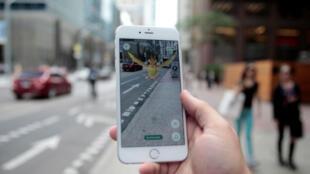 """Pokemon Go introduz personagens no """"mundo real""""."""