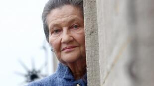 Симонa Вейль в Париже, 26 октября 2007.