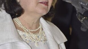 A embaixadora do Brasil no Burkina Faso, Regina Bittencourt.