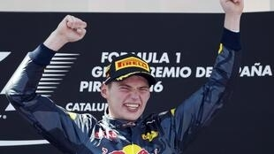 Dutch Formula 1 driver Max Verstappen came third at the 2019 Spanish Grand Prix.