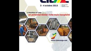 Affiche de la première conférence internationale sur le secteur minier en République du Congo.