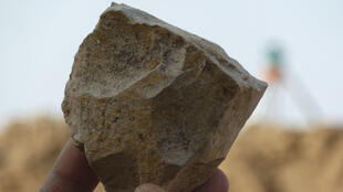 Archaeologists have discovered in Algeria cut stone tools dating back 2.4 million years, much older than those found in the region so far, which could challenge East Africa as the cradle of humanity.