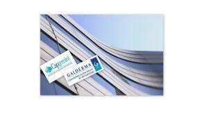 Logo das Multinacionais Galderma e Braxis Capgemini