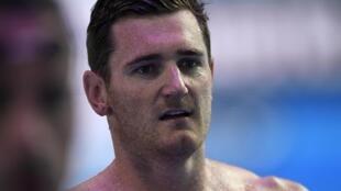 Le nageur sud-africain Cameron van der Burgh, en 2017.